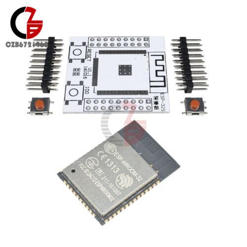ESP32 ESP-32S ESP-WROOM-32 Original IOT Wifi Wlan BLE Module+Adapter Board