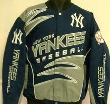 New York Yankees MLB Shred Cotton Twill Jacket - Medium Free Ship