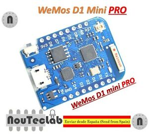 WEMOS-D1-mini-Pro-16M-bytes-external-antenna-connector-ESP8266-WIFI-Board