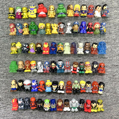 4X Limited Edition OOSHIES DC Marvel Superhero Ironman DC Comic PENCIL TOPPER