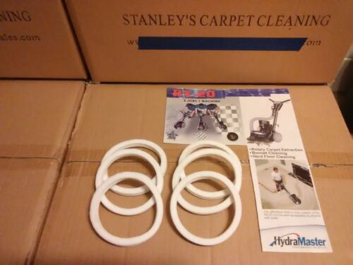 6 RX-20  felt seal gaskets carpet cleaning fits all models  $22