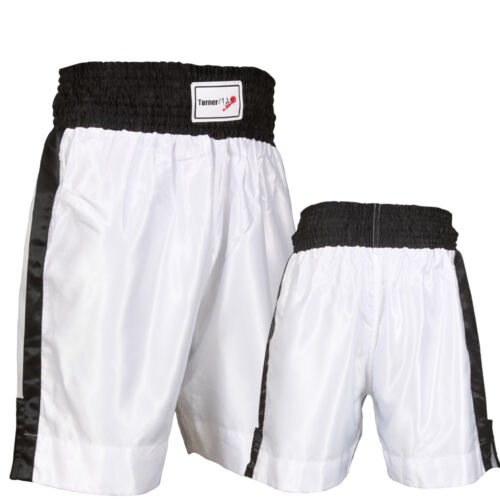 TurnerMAX Boxing Shorts Muay Thai Kick Boxing Martial Arts Training Trunks