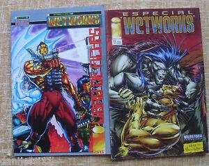 WetWorks-Especial-y-Libro-de-Fichas-no-2-Image-WildStorm-1995-96-Comics