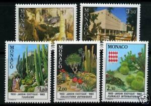MONACO-TIMBRES-1360-1364-NEUF-XX-LUXE