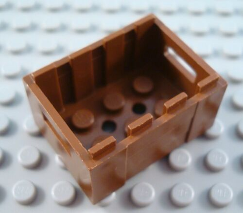 LEGO Brown Minifigure Western Crate Container Part
