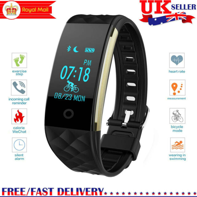 GPS Smart Wristband Sport watch Activity Fitness Pedometer Heart Rate Tracker S2