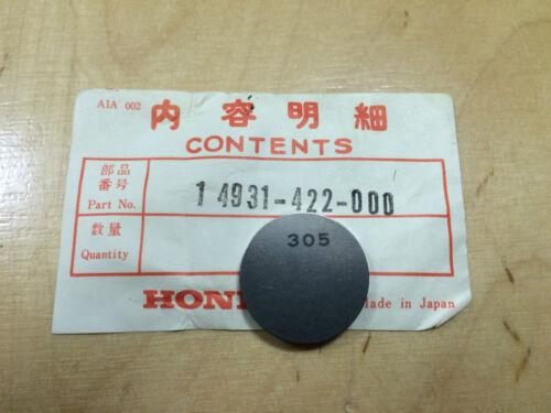 """305 CB 1100 Original Honda CB 750 CB 900 /"""" 14931-422-000 CB 1000 CBX /""""Shim"""