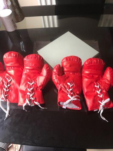 Jnr Or Ladies X 2 Pairs Don 8 Oz Boxing Gloves
