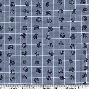 Carpal-Grid-Titanium-Carolyn-Friedlander-Carkai-Grid-Cotton-FQ-Mtr