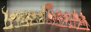 Publius croisades chevaliers Sarrasins Toy Soldiers Publius Rouge Beige 1:32