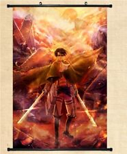 """8/""""*12/"""" Home Decor Japanese Anime Attack on Titan Wall Poster Scroll NA5"""