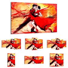 30 MUSTER Paar Kuss Mehrfarbig DIGITAL ART DE 2990 LEINWAND BILDER