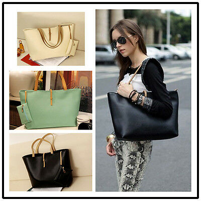 6c284421c9 Korean Lady Women Hobo PU Leather Messenger Handbag Shoulder Bag Totes Purse