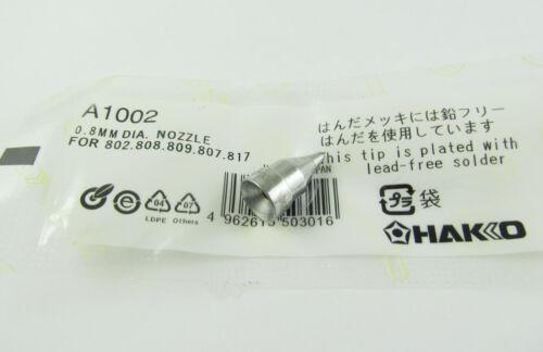 A1002 Replace Desoldering Gun Leader-Free Solder Tip F Hakko 802 808 809 807 817