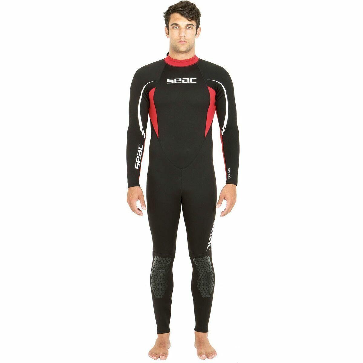 SEAC Diving Suit Relax Long 2,2mm Diving Suit Water Sport Wetsuit Herren