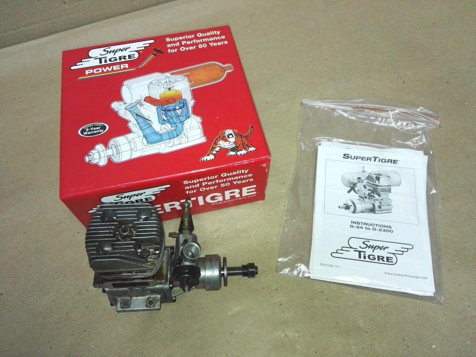 ENGINE MOTORE AVIO SUPERTIGRE GS45 ABC RC  SUPG0150  prezzi bassissimi