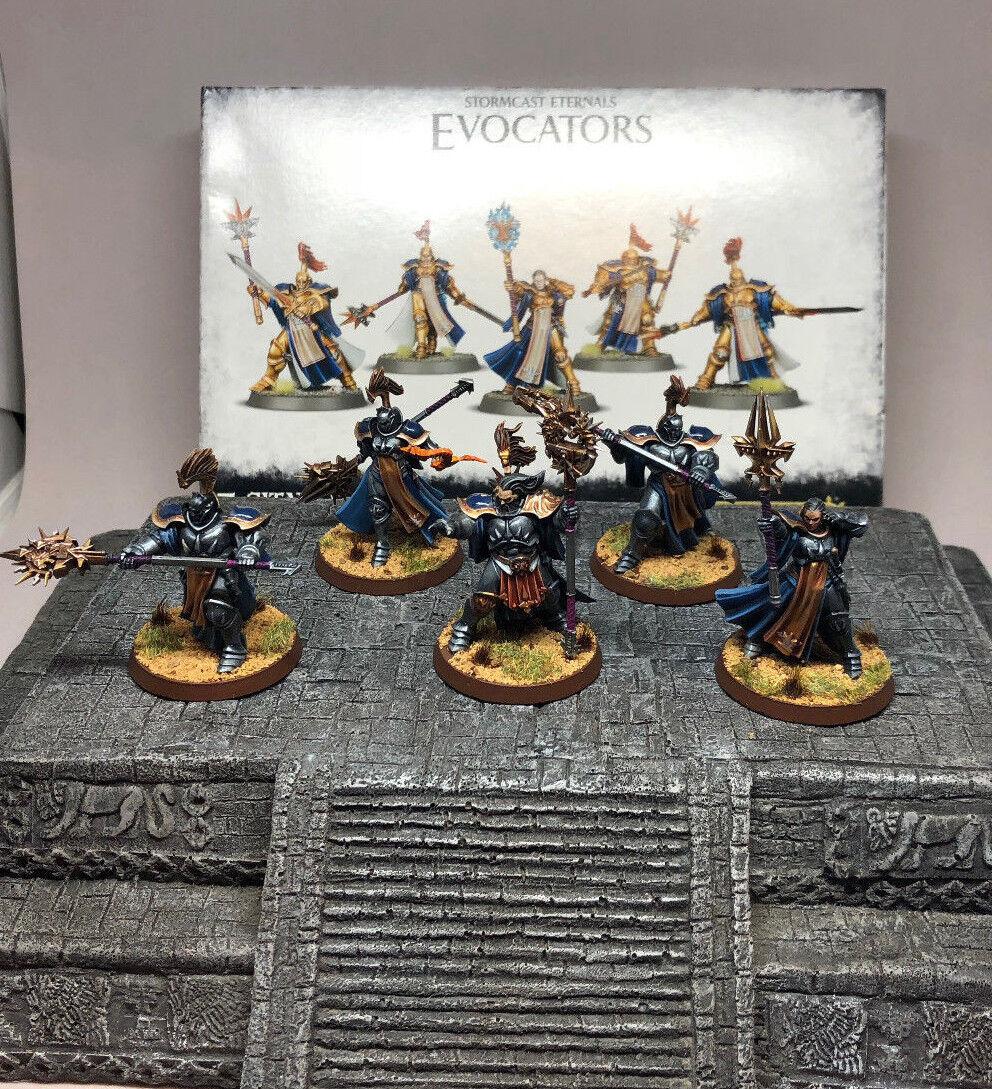 Stormcast Eternals evocators  Tabletop plus peint  bonne qualité