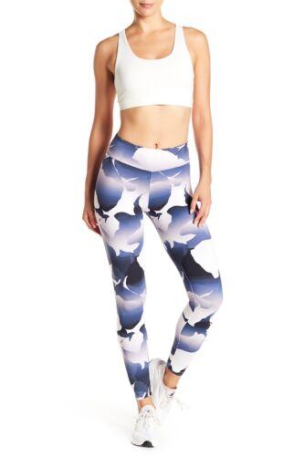 Walk Xxs Sz ~ Nwt Bianco Track Pilates Run Gym Leggings Peony Me Yoga Blu w6TUqzqI