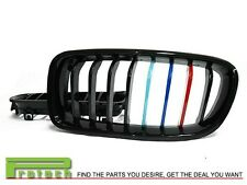Sports Front Jet Black Grille with /// M Tri Color Paint For F30 328i 335i 4Dr