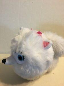 "The Secret Life Of Pets Gidget White Dog  10"" Plush Stuffed Animal"