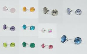 925-solid-sterling-silver-faceted-pink-rose-quartz-citrine-mixstone-stud-earring