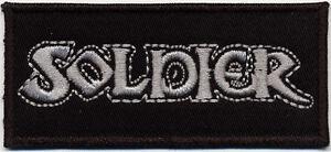 SOLDIER-Logo-Patch-Embroidered-Aufnaeher-gestickt-NWOBHM
