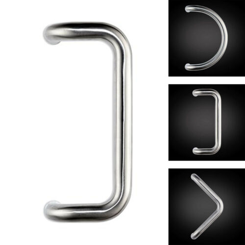 32mm Quality C D or V Style Pull Bar Handle Inline 304 Stainless Steel