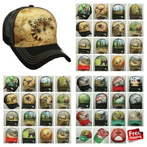 US Flag Baseball Cap Animal Farm Rooster Mesh Trucker Snapback ... 812d7af2e9f4
