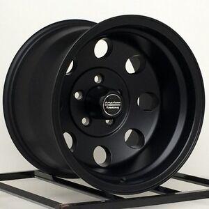 15 inch wheels rims black truck toyota isuzu gm chevy truck 6 lug 15x10 baja ebay. Black Bedroom Furniture Sets. Home Design Ideas