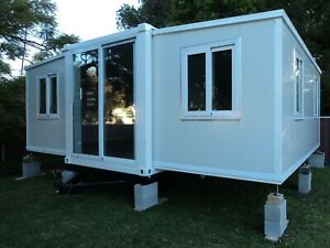 NEW-2020-2-BEDROOM-GRANNY-FLAT-BATHROOM-READY-TO-MOVE-IN-CABIN-NOT-A-KIT-6MX6-3M