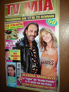 Tv My Luca Ward Alessia Marcuzzi Bbb Ebay