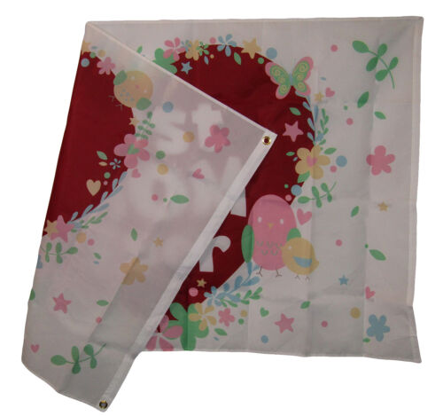 3x5 Best Mom Ever Heart Love Mothers Day Holiday Flag 3/'x5/' Grommets