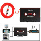 Cassette Car Stereo Tape Adapter for iPod iPhone MP3 AUX CD Player 3.5mm SP
