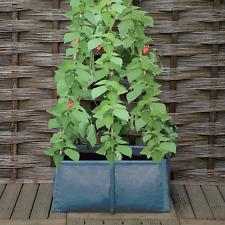 Pea Runner Bean Tomato Grow Bag Planter Garden Growbag Plant Pot Support Frame