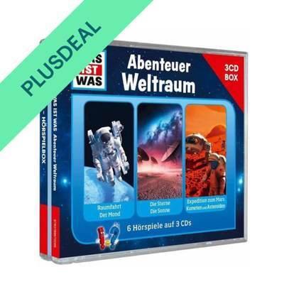 WAS IST WAS 3-CD-Hörspielbox Abenteuer Weltraum