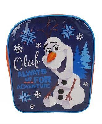 Olaf | Always Up For Adventure | Snowflake Blue School Backpack | Rucksack | Bag