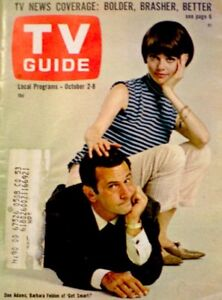 TV-Guide-1965-Get-Smart-Don-Adams-Barbara-Feldon-Clint-Eastwood-653-VG-COA
