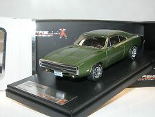 PREMIUM X Models, PRD390J, Dodge Charger 500, 1970, grün, 1/43