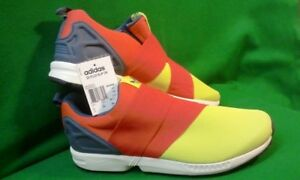 ba5a52e8ed28a Adidas Originals ZX Flux Slip-On Training Running Sneakers Size 12 ...