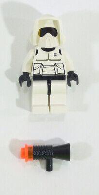 LEGO 7128 7139 Star Wars Scout Trooper Minifigure w// LEGO Megaphone Blaster NEW