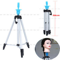 55 Salon Adjustable Tripod Stand Hair Cosmetology Mannequin Training Head Hold