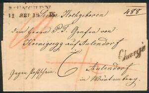 Bayern-R-Brief-Zweizeiler-Muenchen-1869-Grafen-v-Koenigsegg-auf-Aulendorf-top