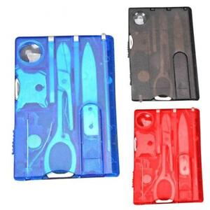 Multifunction-Travel-Survival-Camping-Tool-Card-Knife-LED-Magnifier-Kit-Gift
