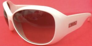 AUTHENTIC-D-G-Dolce-amp-Gabbana-Sunglasses-6041-DG6041-White-silver-round-DG-CASE