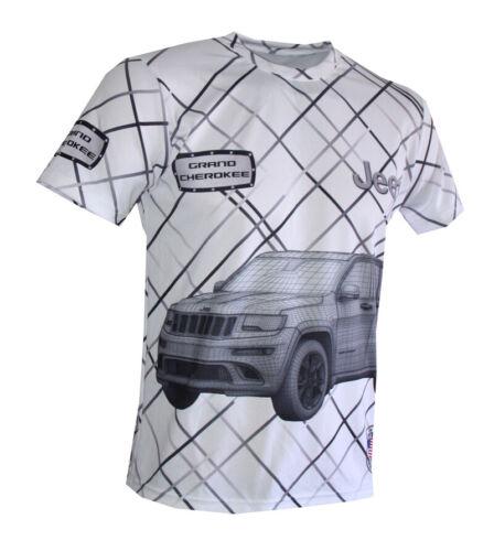 Jeep T-shirt Maglietta Camiseta CHEROKEE WRANGLER SRT Renegade Patriot Compass 2