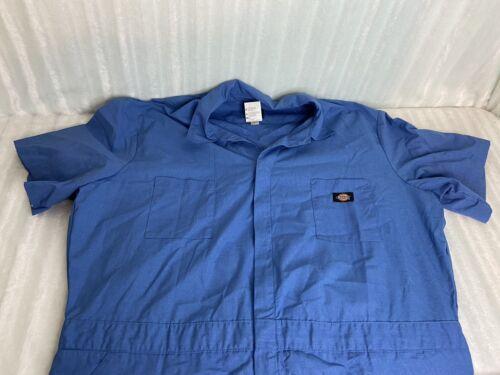 DICKIES COVERALLS Workwear Boilersuit Blue Short S