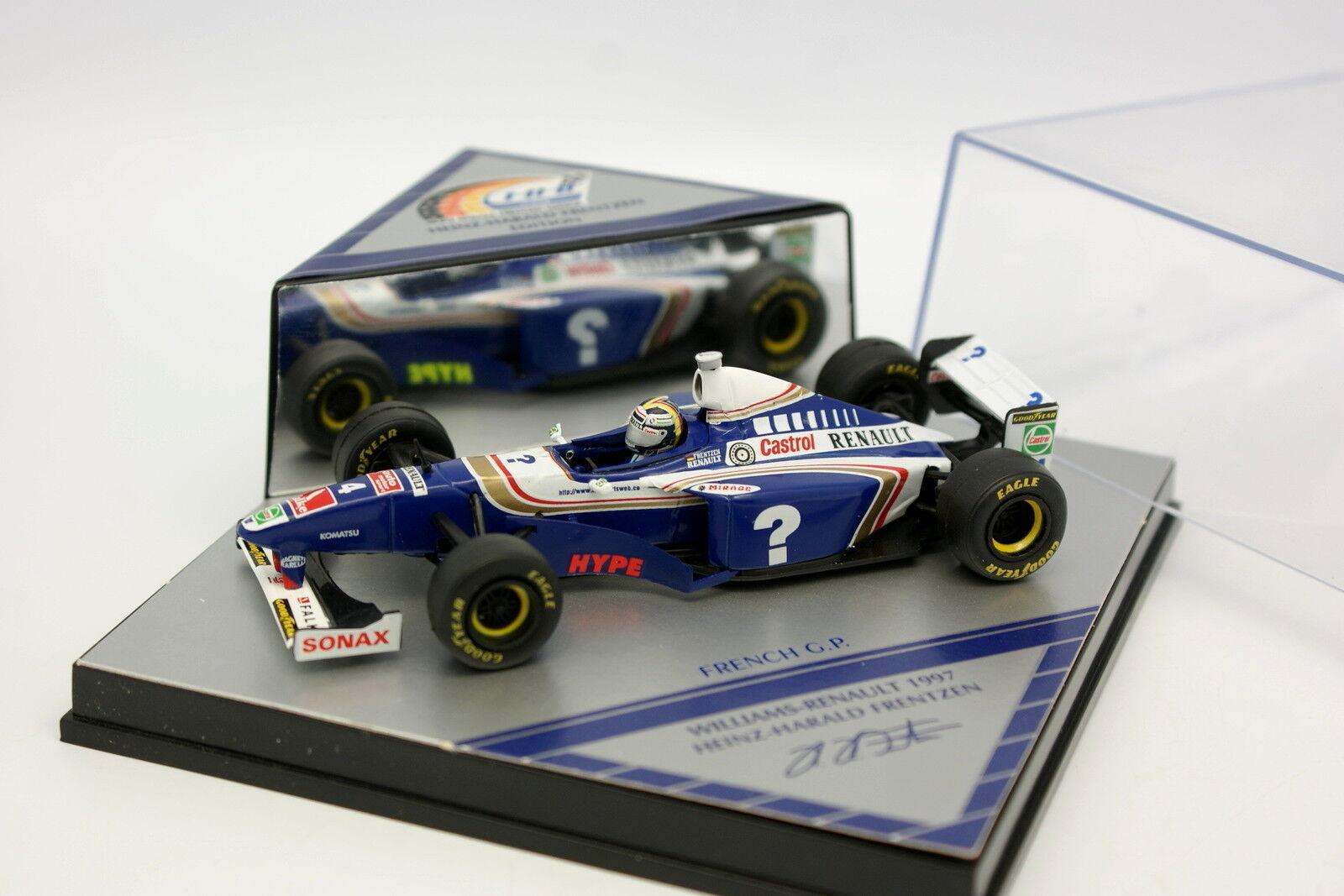 Onyx 1 43 - - - F1 Williams Renault 1997 French GP Frentzen babae5