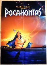 Walt Disney POCAHONTAS original vintage 1 sheet movie poster Teaser A 1995