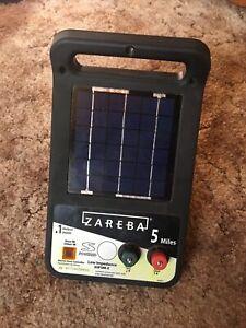 Zareba Fence Charger 5 Mile Solar