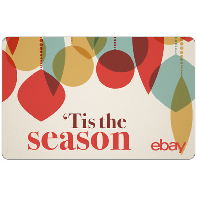 'Tis the Season eBay Digital Gift Card - $25 to $200 - Fast Email Delivery